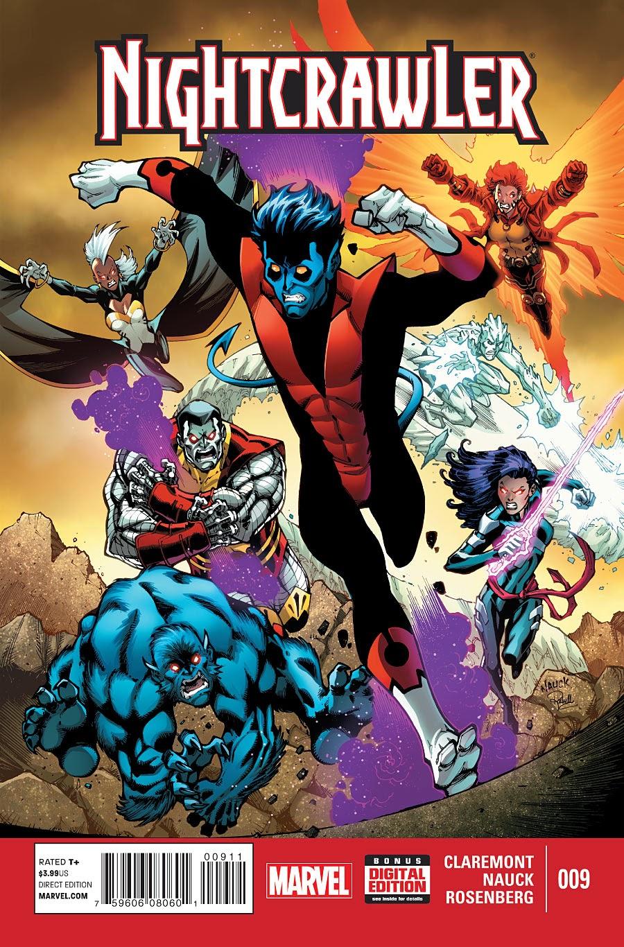 Nightcrawler out bampfs the X-Men