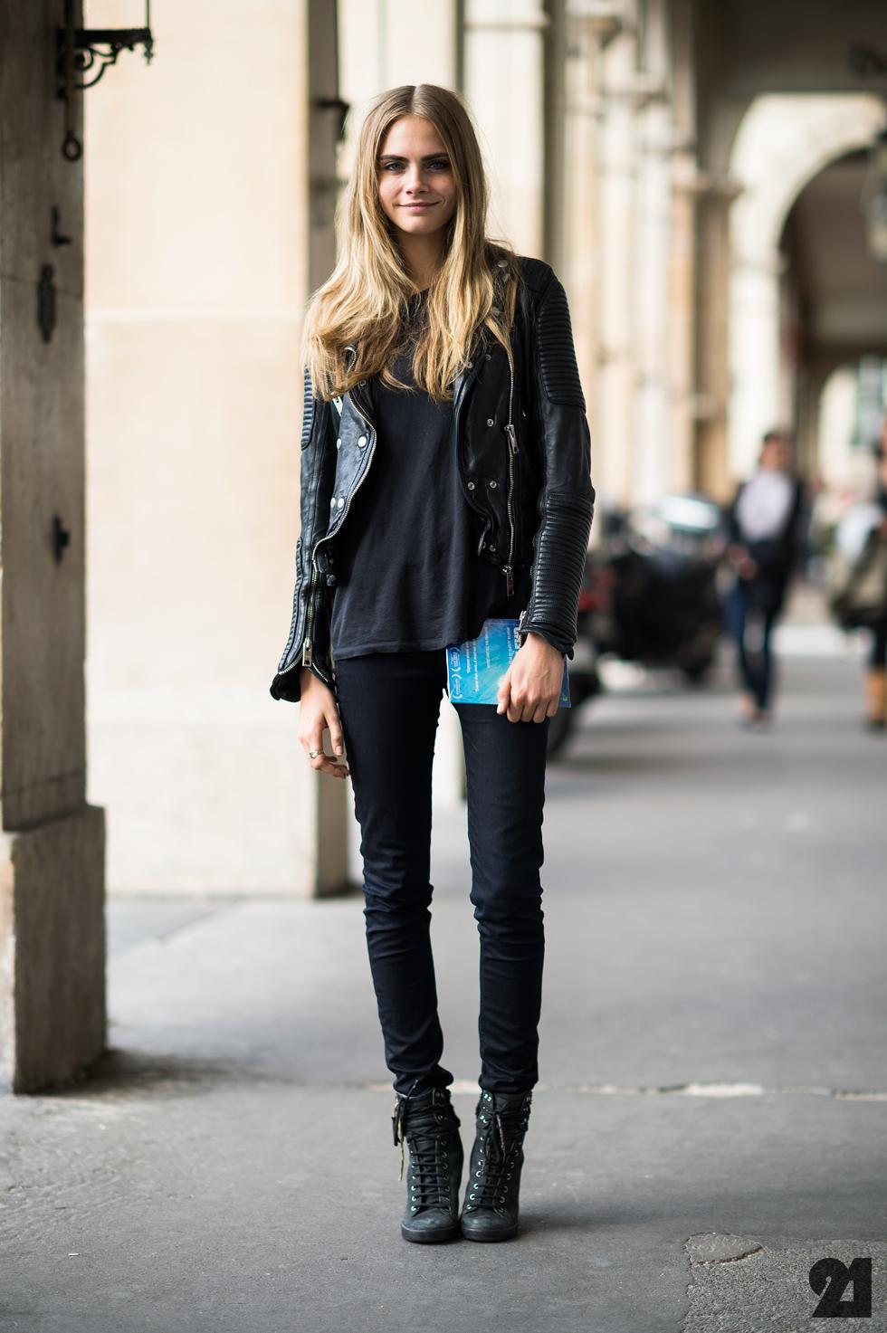 Giaa Monday Model Cara Delevigne