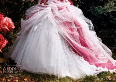 Wedding Dress  Size on Wedding Dresses  Plus Size Wedding Dresses With Color