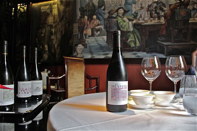 Vinos Ronsel do Sil en el Restaurante Tse Yang. Blog Esteban Capdevila