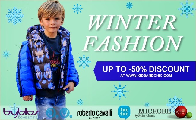 Winter sale: up to 50% discount in children's clothes - Roberto Cavalli, Microbe by Miss Grant, Byblos Boys&Girls, Tuc Tuc, Bóboli, José Varón, Rochy