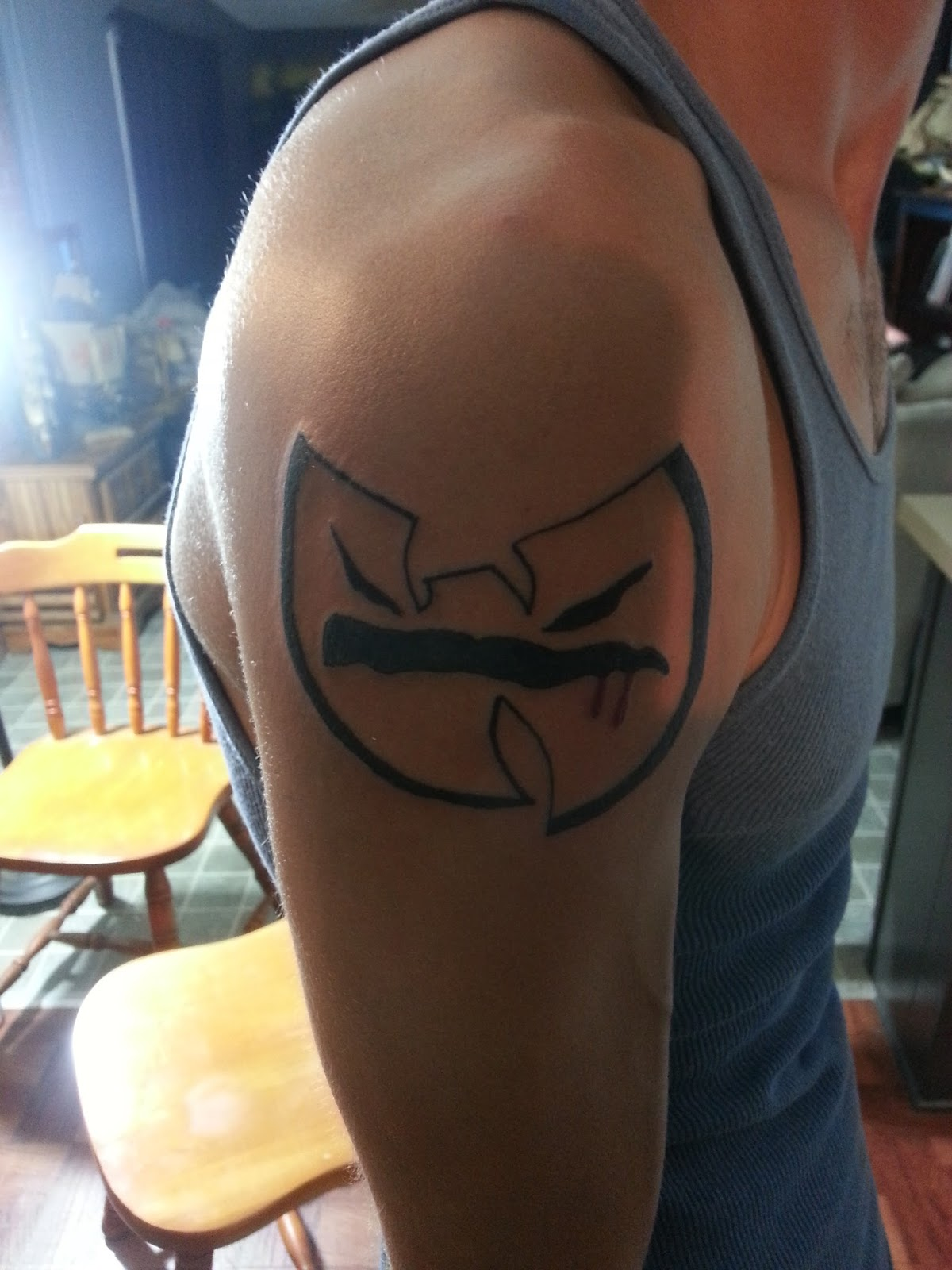 Wu tang clan disciples wu tat thursday 74 for Method man tattoo