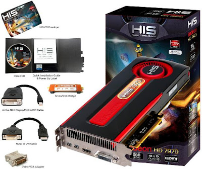 HIS Radeon HD 7970 3GB GDDR5