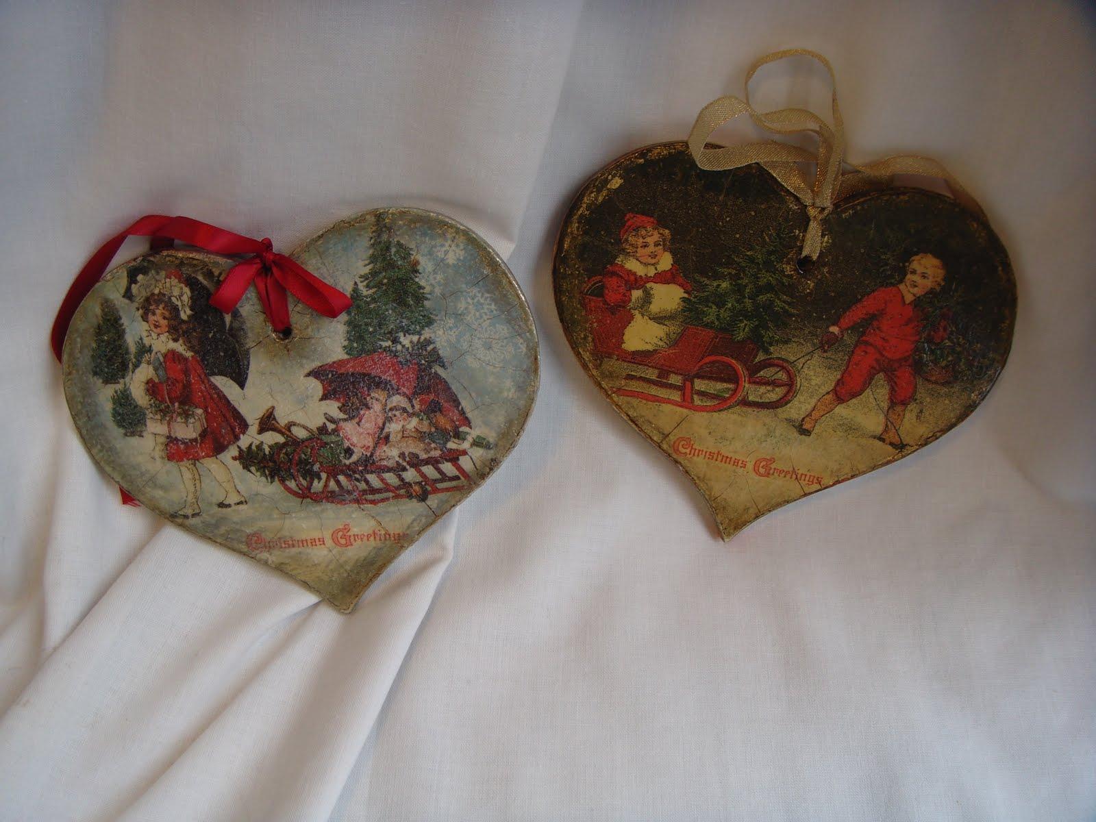 #673B28 Garden Of Decoupage: Vintage Christmas Decoration 6365 décoration noel découpage 1600x1200 px @ aertt.com