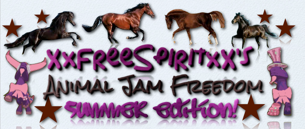 ✮✭XxFreeSpiritxX's Animal Jam Freedom✭✮