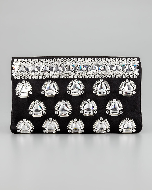 prada designer bags - prada raso ricamo clutch, small pink prada handbag