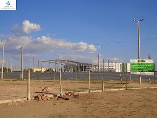 Construção de empresa de telemarketing.