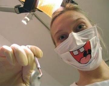 funny dentist mask