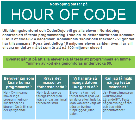 http://www.norrkoping.se/barn-utbildning/itis/hour-of-code/Information-Hour-of-Code-2.pdf
