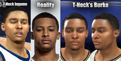 NBA 2K14 Trey Burke 2K Face