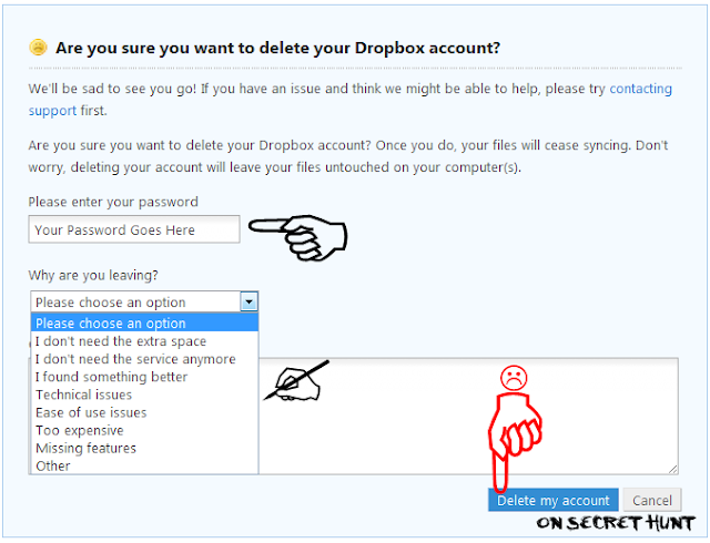 delete+dropbox How To Delete Your Dropbox Account