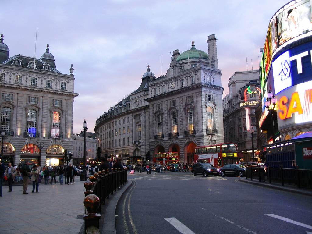 Travel london for Time square londra