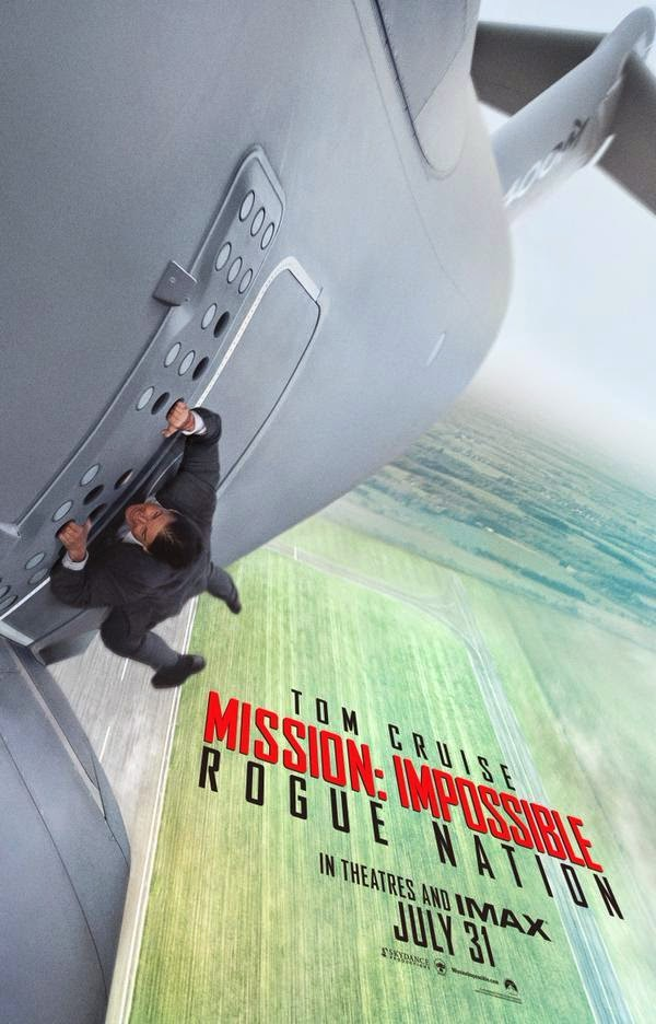 Tom Cruise While Filming In Mission Impossible - Rogue Nation