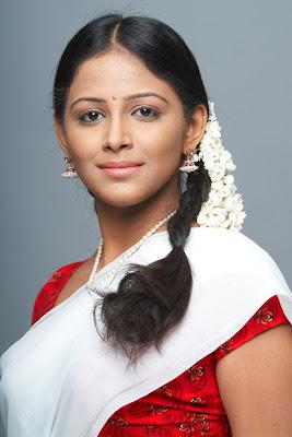 subhiksha in half saree spicy shoot latest photos