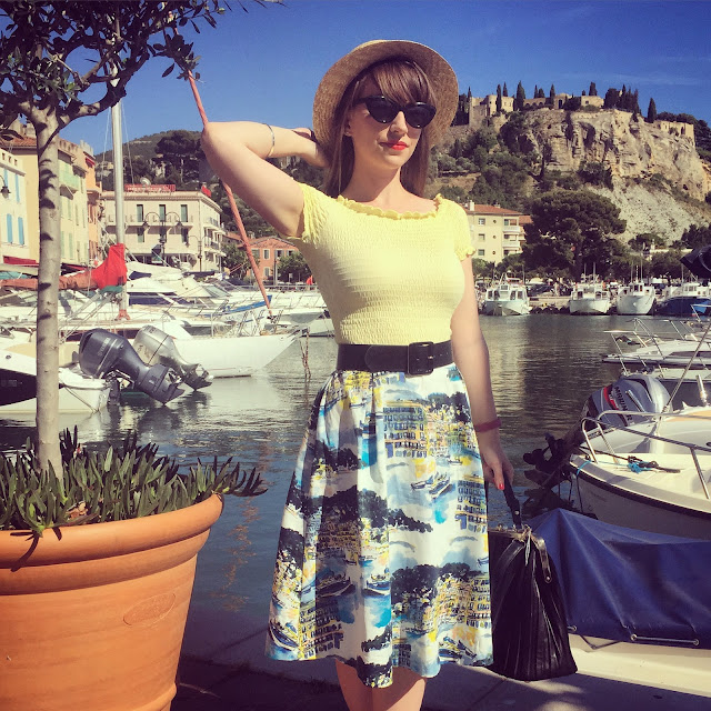 Riviera life at Cassis port, France