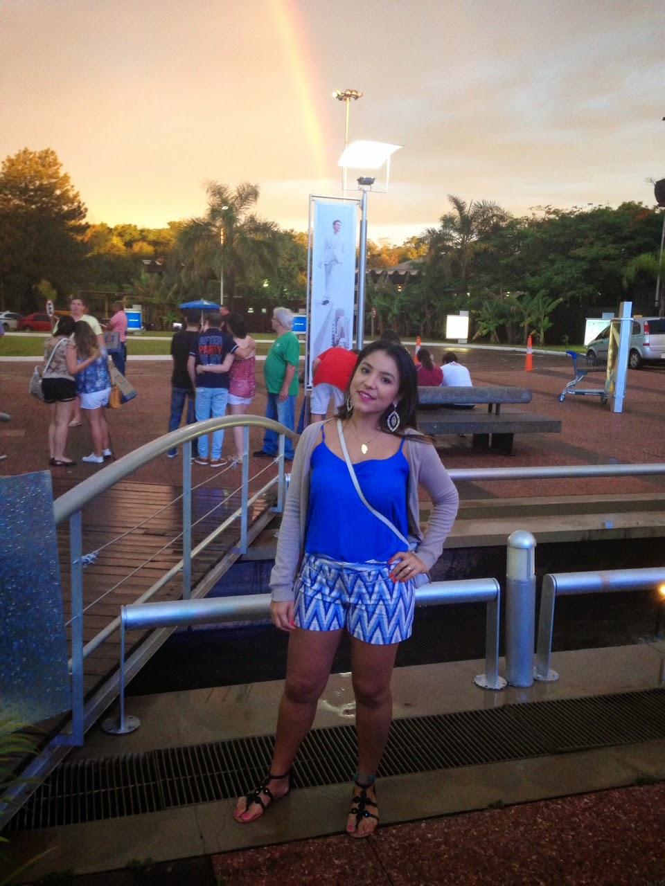 Look de viagem: Foz do Iguaçu