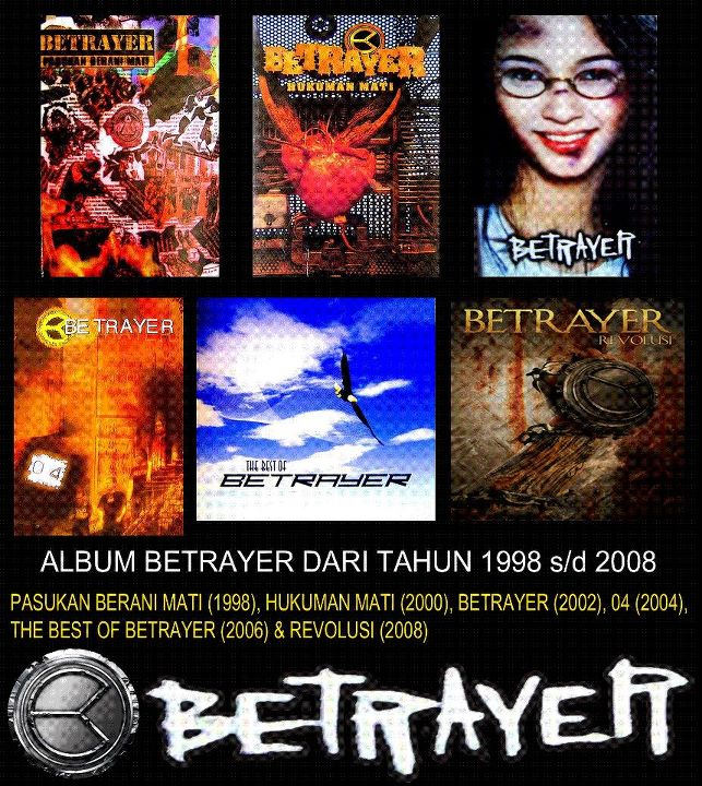 BETRAYER | Profil Band Betrayer | Download Lagu Full Album Mp3 | Diskograpi | Biograpi |
