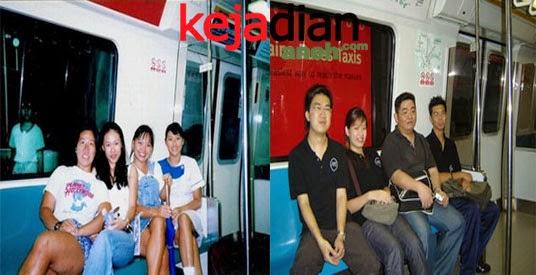 Penampakan Hantu Anak Kecil MRT Singapore
