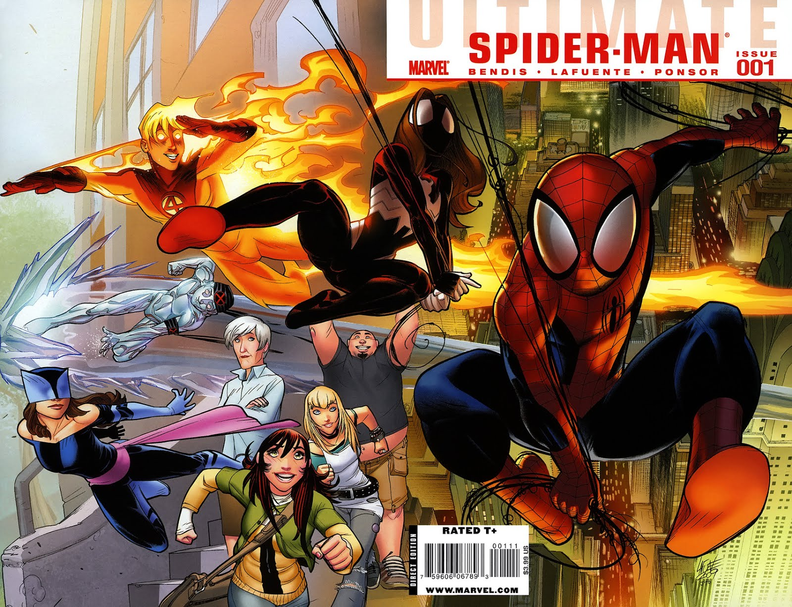 ULTIMATE COMICS SPIDER-MAN #001