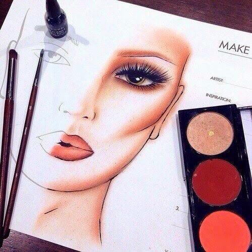 Макияж чем рисовать тени на лице