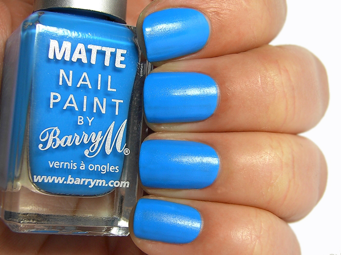 Barry M Matte Nail Paint Malibu