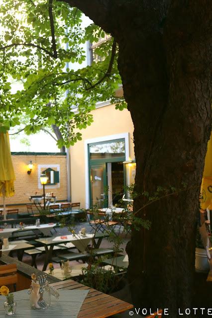Wien, Österreich, Küche, Essen und Trinken, Biergarten, Urig
