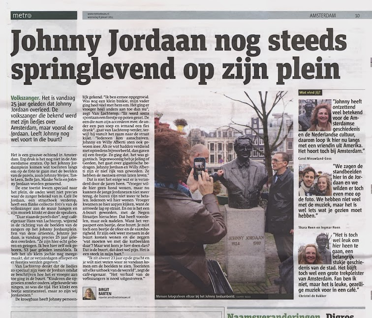 Johnny Jordaan - Bloemenlied - De Vliegende Hollander