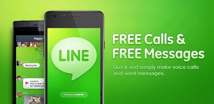 Download Gratis - Line Untuk BlackBerry, Android, IPHONE