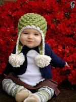 Pictures of Babies-Kids Photos Blue Dress With Cute Smile
