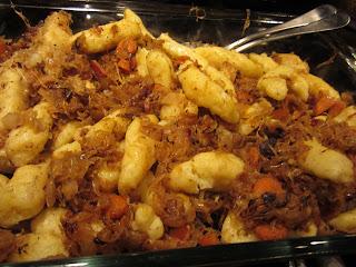 Schupfnudeln Sauerkraut Potato Noodles