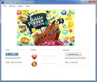 bubble pirate quest hack