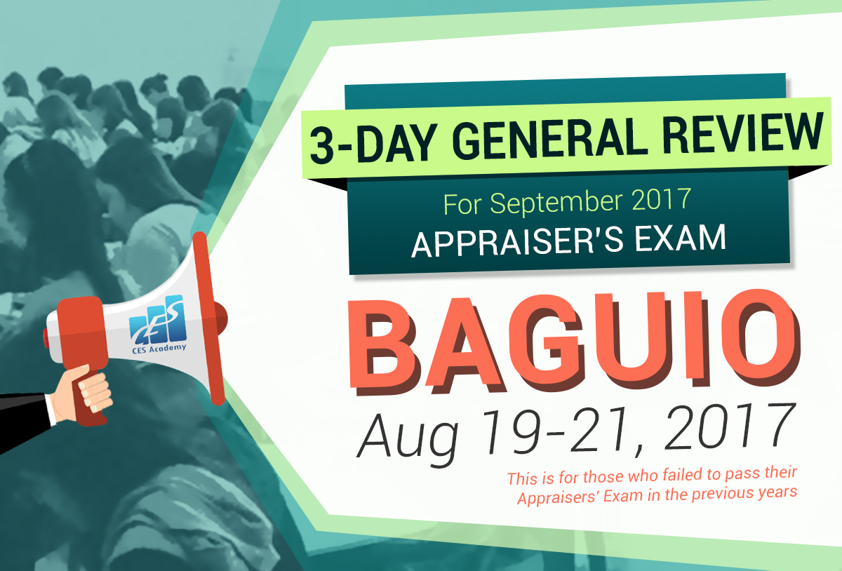 General Review for Appraiser's Exam in Baguio City