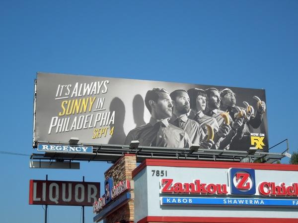 It's Always Sunny in Philadelphia season 9 billboard