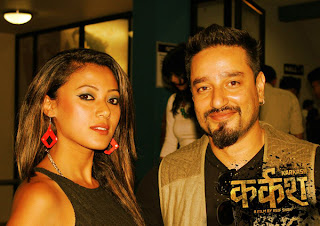 Harshika Shrestha and Suraj Singh Thakuri