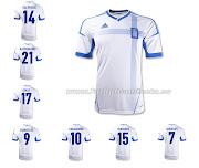 Camisetas Futbol BaratasCamiseta Grecia 1 Equipacion 201213