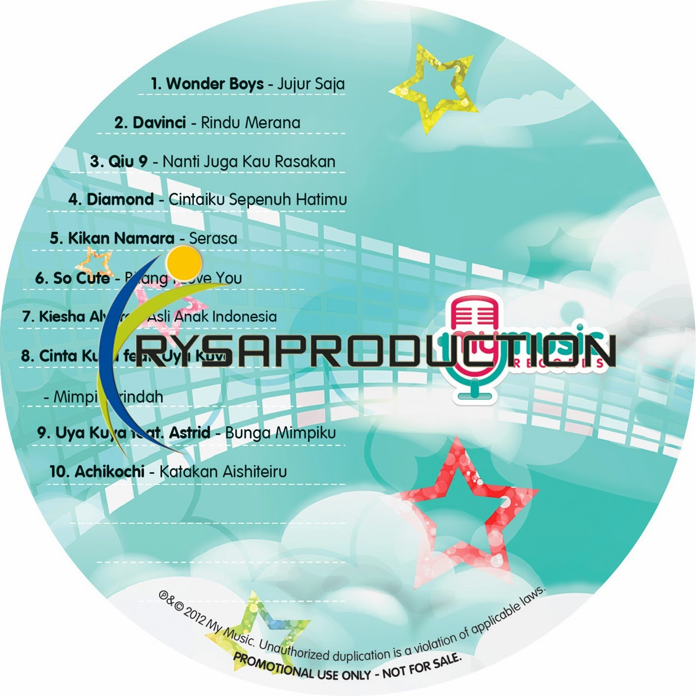 CD Promo My Music Records
