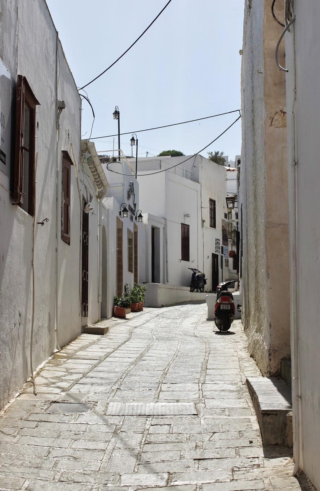 Lindos Street, Rhodes