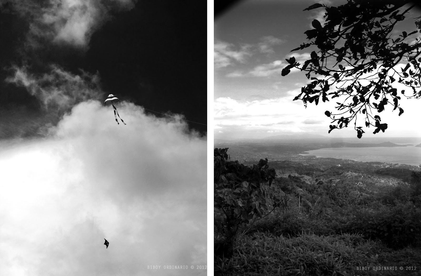 kite flying in the philippines and beautiful view in Picnic grove tagaytay