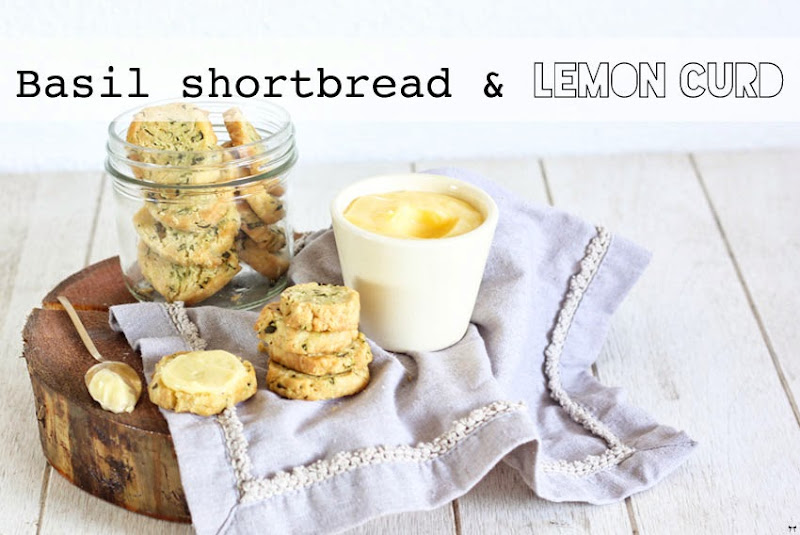 Lemon Shortbread With Fresh Rosemary Recipe — Dishmaps