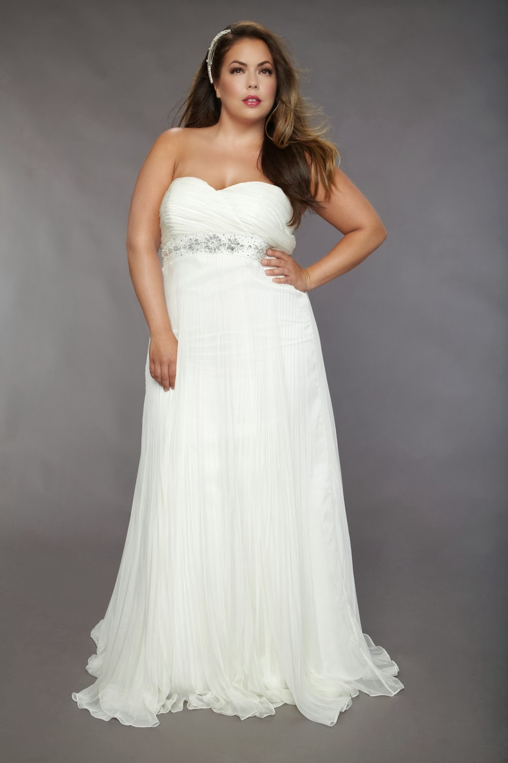 Plus size casual wedding dresses for Wedding dress for casual wedding