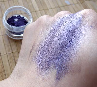 Nowości wśród moich pigmentów mineralnych - fiolety!
