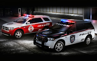 Dodge Police and Fire Cars HD Wallpaper