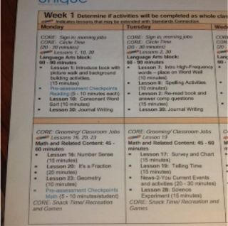 What Does A Lesson Plan Look Like | New Calendar Template Site