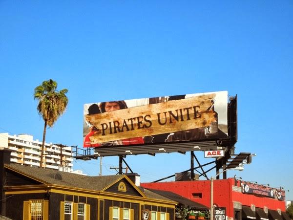 Captain Morgan Pirates Unite billboard Sunset Strip