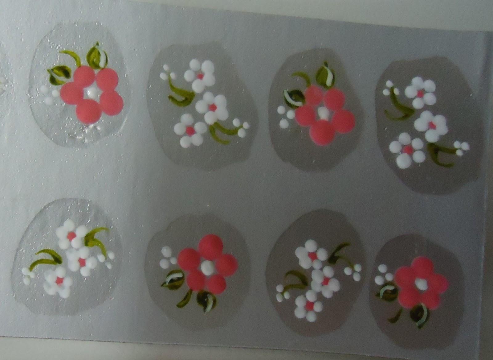 Armario De Quarto De Solteiro Modulado ~ Beleza das unhas Adesivo artesanal de unhas caveira, flores, rosas, flor de canto, borboleta
