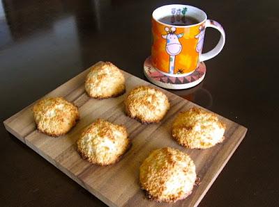 Кокосовое печенье Макаруны