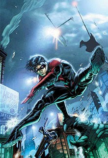 Nightwing in Justice League: War