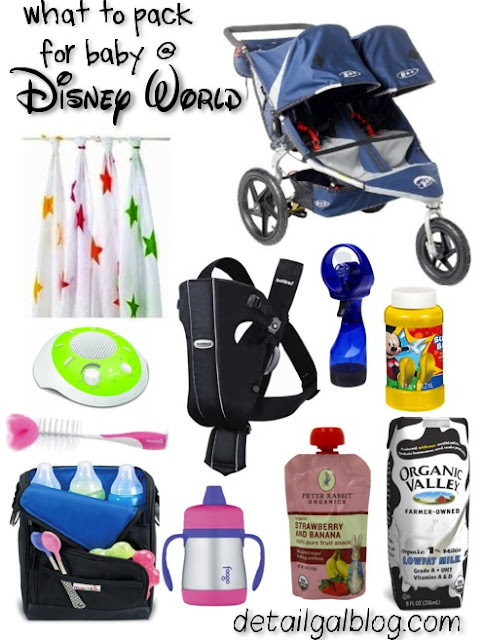DISNEY WITH A BABY/TODDLER