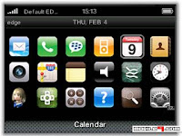 1265293919 iPhone   Free BlackBerry Curve 3G 9300 Themes