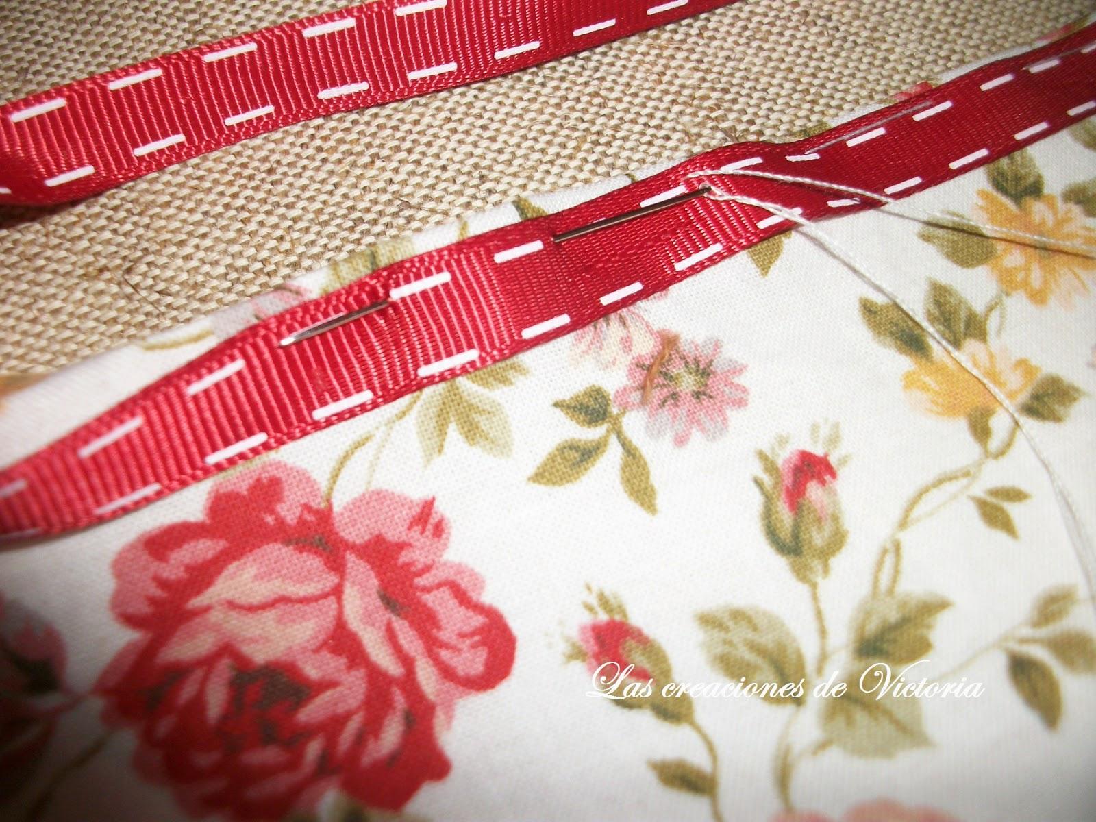 Las creaciones de Victoria.Vintage.Guarda-infusiones de patchwork